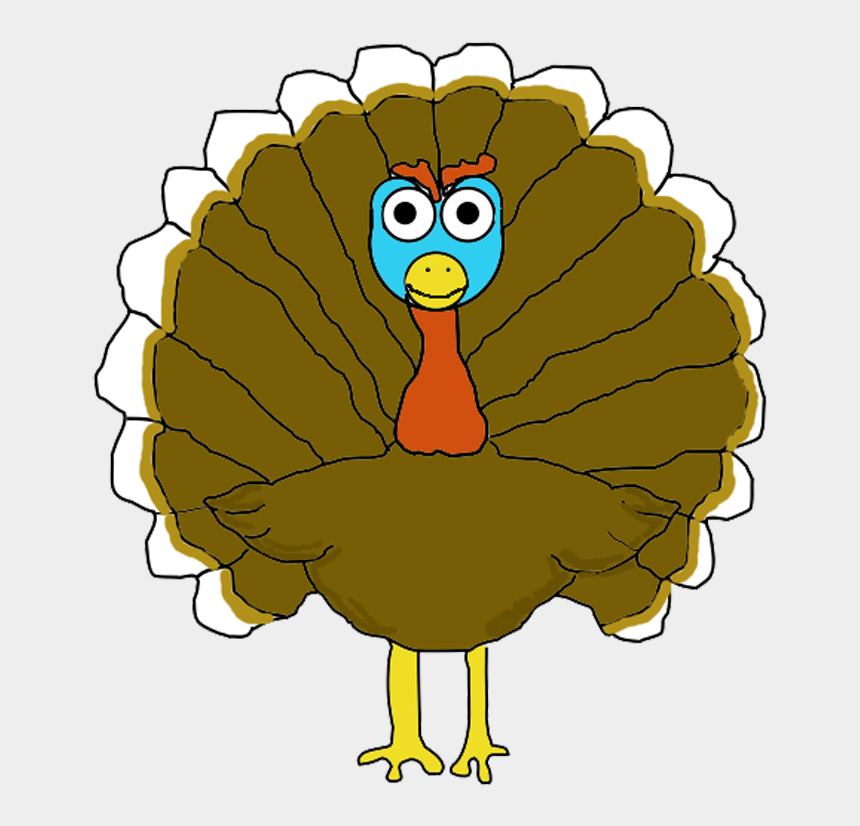 turkey wattle clipart, Cartoons - Have Your Turkey 3 Ways Pencil Topper, Card, Coloring - Illustration