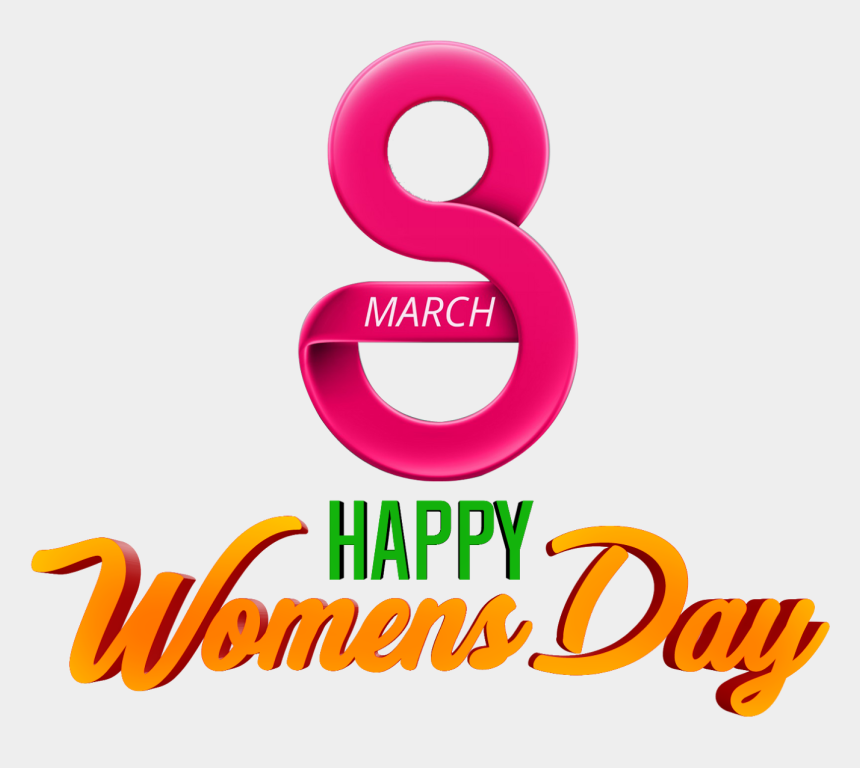women's day clipart, Cartoons - Happy Women's Day Hd Png Logo And Transparent Background - Transparent Happy Women's Day Png