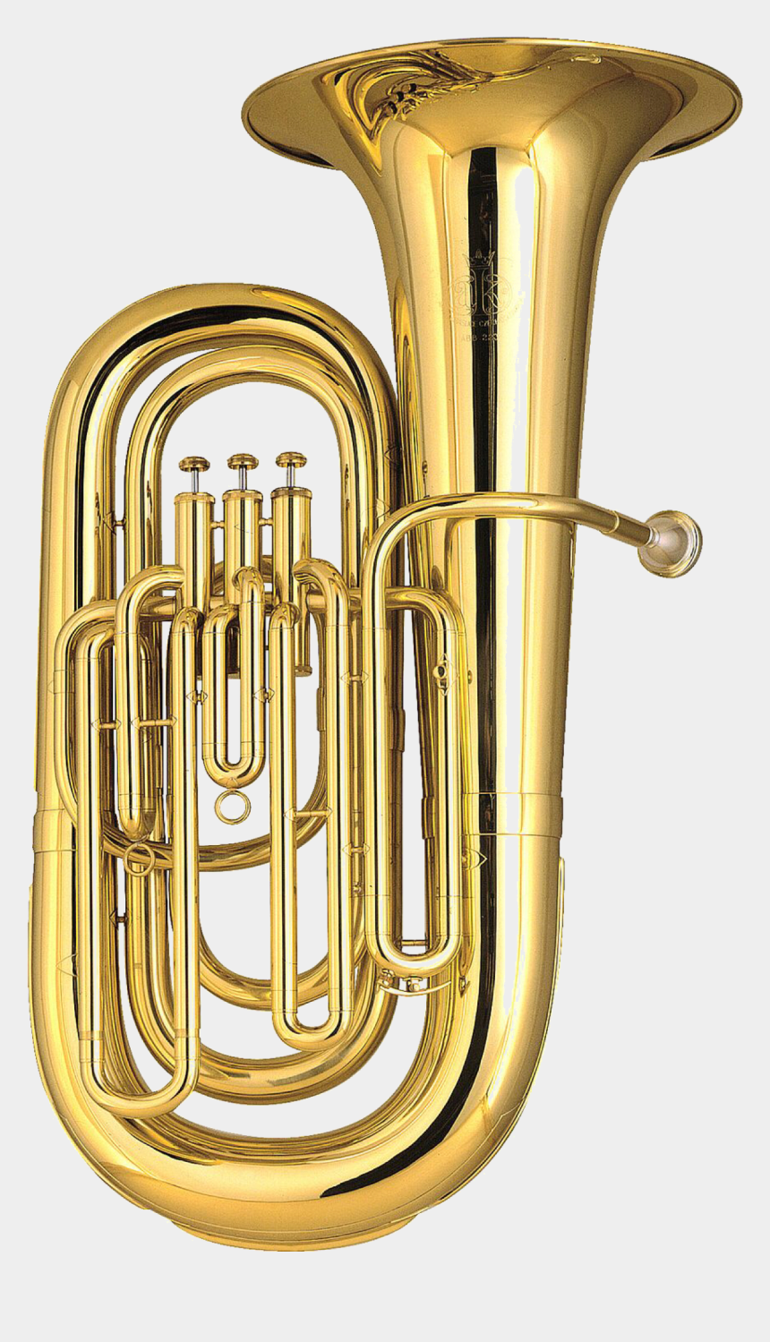 marching band instruments clipart, Cartoons - Tuba Transparent Brass Instrument - Brass Instrument Tuba