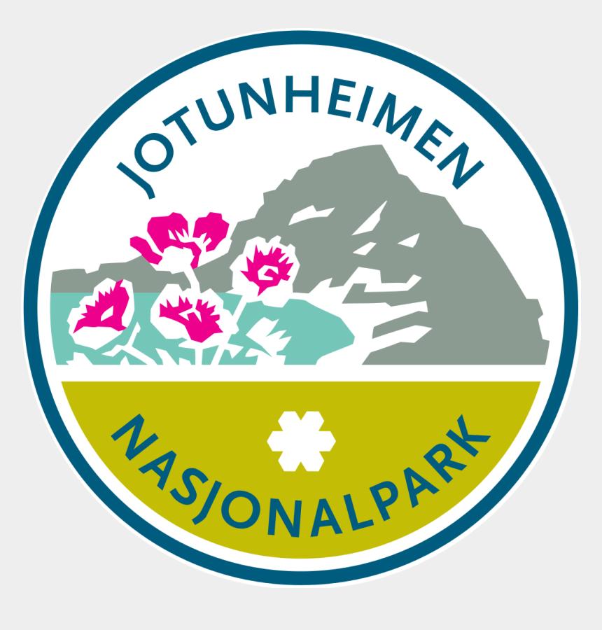 national park clipart, Cartoons - Jotunheimen National Park Logo