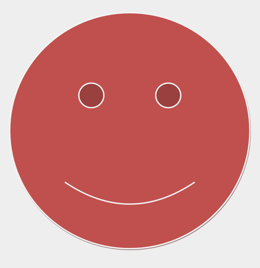 red sad face clipart, Cartoons - Red Smiley Face Png - Smiley