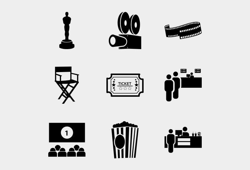 Movies Vector Film Making Cinema Icon Transparent Png Cliparts Cartoons Jing Fm