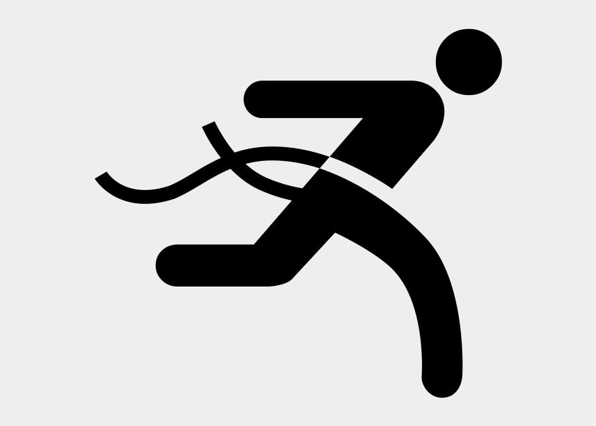 finish line ribbon clipart, Cartoons - Running Finish Line Icon