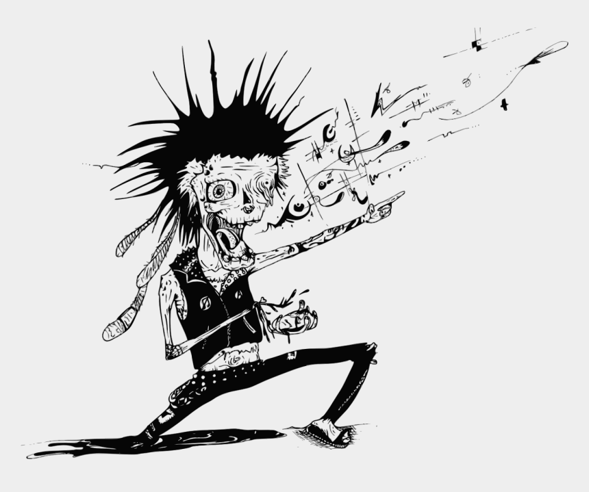 punk rocker clipart, Cartoons - Marketing By Lowest Common Denominator - Punk Clipart