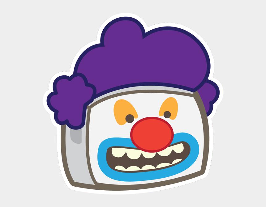 punk rocker clipart, Cartoons - Clown - Cartoon
