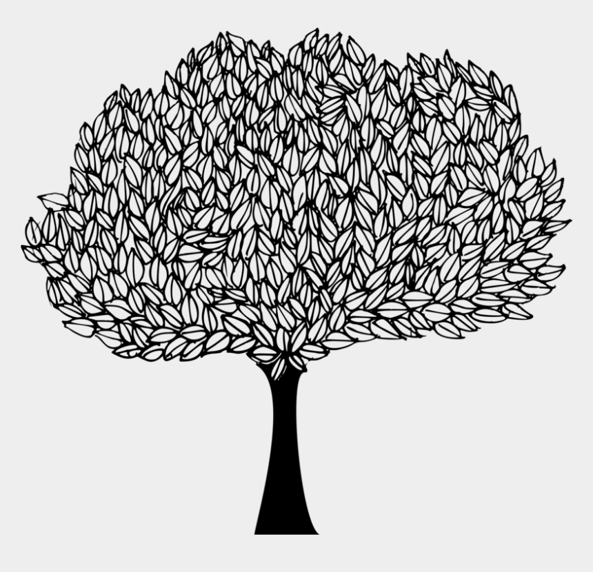 fig tree clipart, Cartoons - Banyan Tree Drawing Line Art Sacred Fig - Drawing Of Peepal Tree
