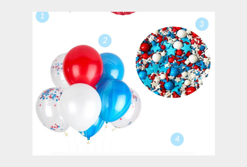 happy birthday america clipart, Cartoons - Happy Birthday, America - Balloon
