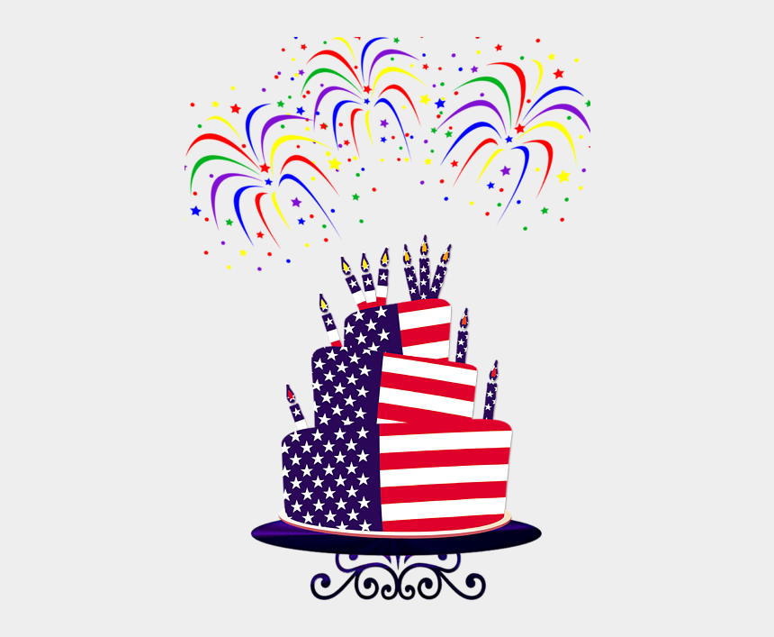 happy birthday america clipart, Cartoons - Bleed Area May Not Be Visible - Happy Birthday From The Usa
