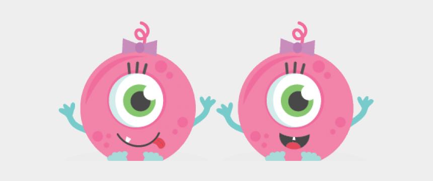 girly girl clipart, Cartoons - Cute Cartoon Boy Monsters