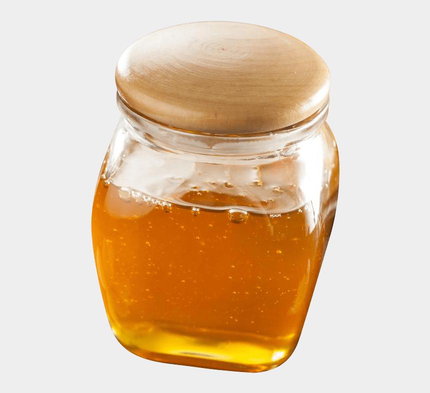 honey jar clipart, Cartoons - Honey Jar - Jar Of Honey Png