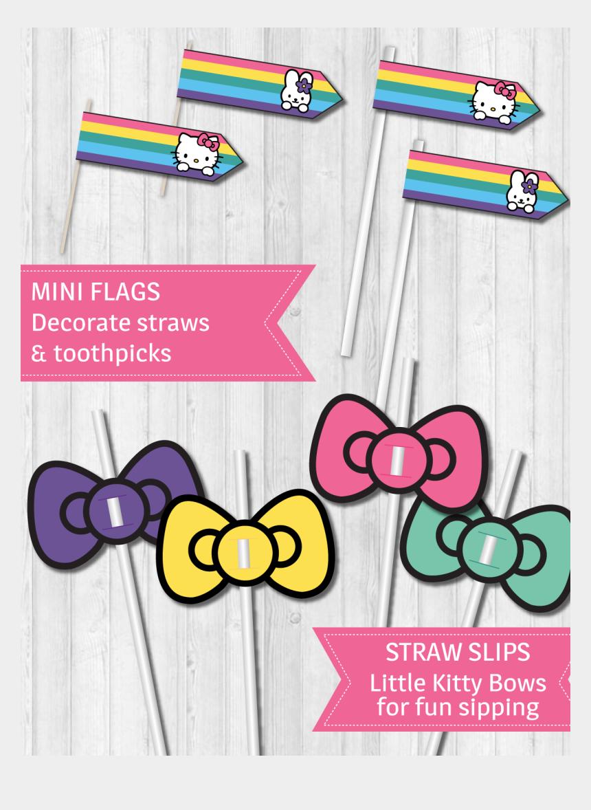 hello kitty bow clipart, Cartoons - Hello Kitty Party Decor Pack