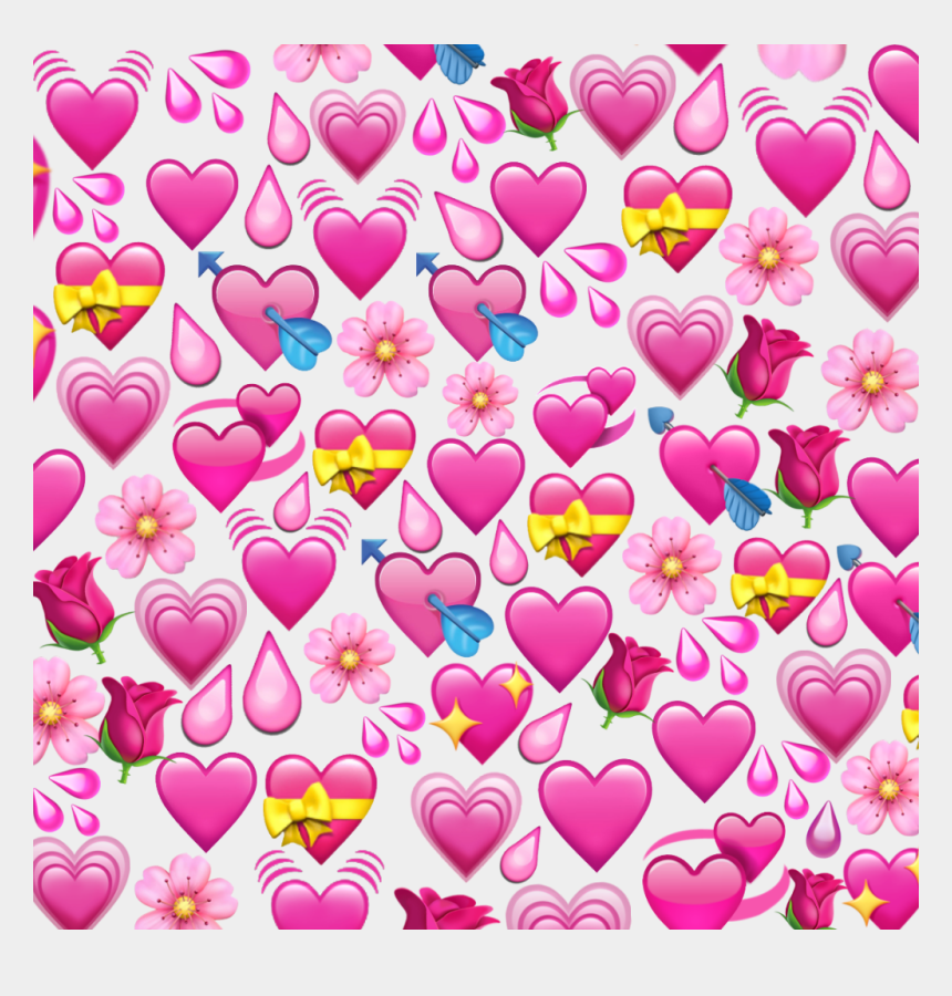 heart flowers clipart, Cartoons - #heart #heart #flower #flowers #drops #drop #pink #emoji - Iphone Blue Emoji Background