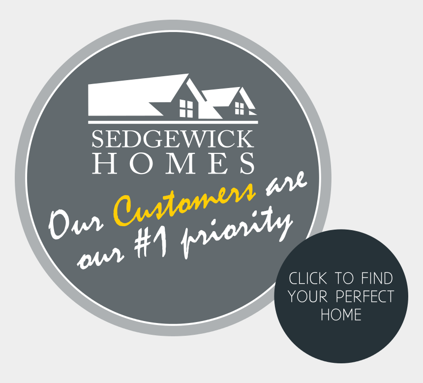 welcome to your new home clipart, Cartoons - Welcome To Sedgewick Homes - Circle
