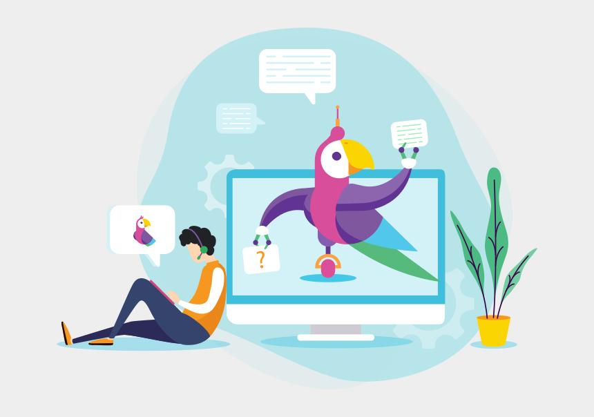 customer service agent clipart, Cartoons - Transform Your Customer Service With Ai - Cartoon