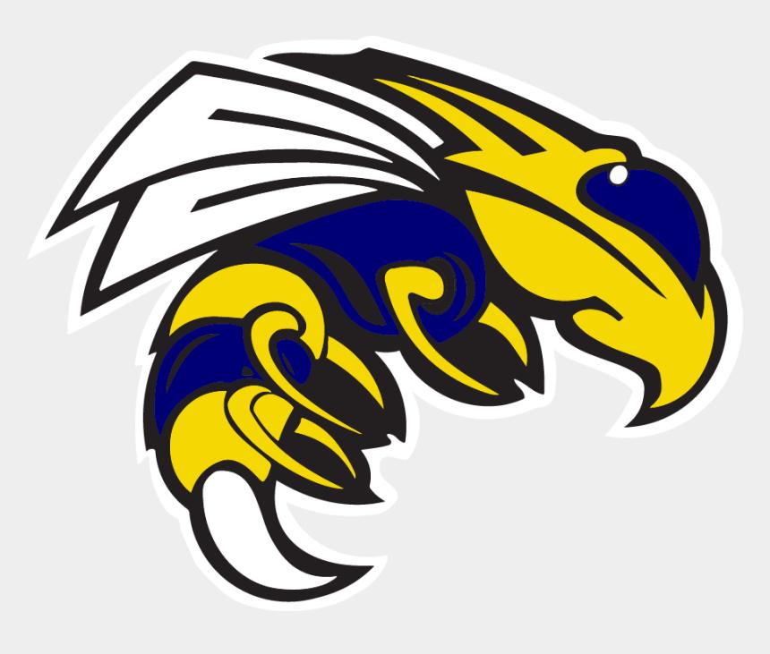 yellow jacket mascot clipart, Cartoons - Yellowjacket Logo - Sheridan High School Mascot
