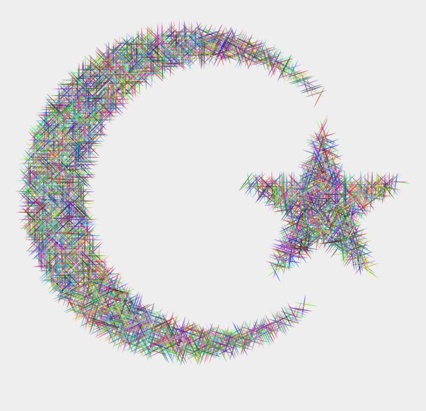 crescent moon and star clipart, Cartoons - Drawing Facebook - Circle