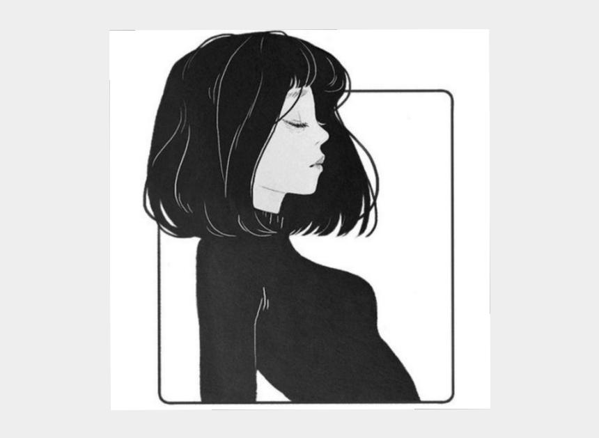Tumblr Draw Asian Girl Anime Girl Short Hair Cliparts