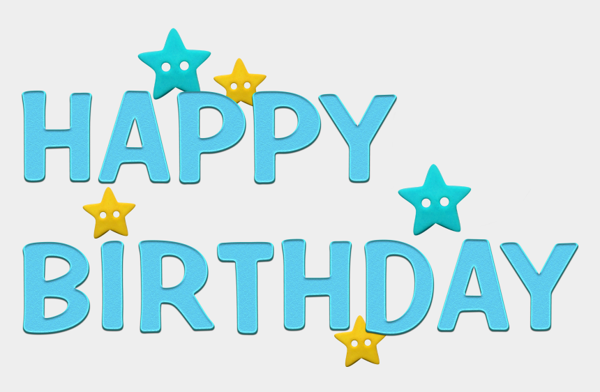 happy 21st birthday clipart, Cartoons - Happy Birthday Transparent Blue Png Picture - Happy Birthday Clipart Blue