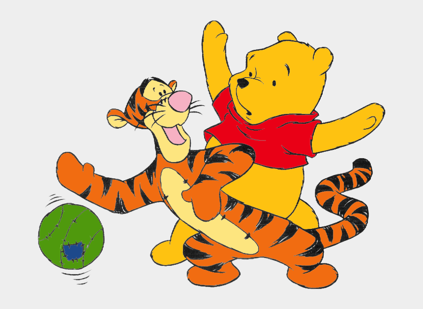 baby winnie the pooh clipart, Cartoons - Palm Tree Png, Disney Cartoons, Tigger, Art Images, - Disney Characters Playing Sports