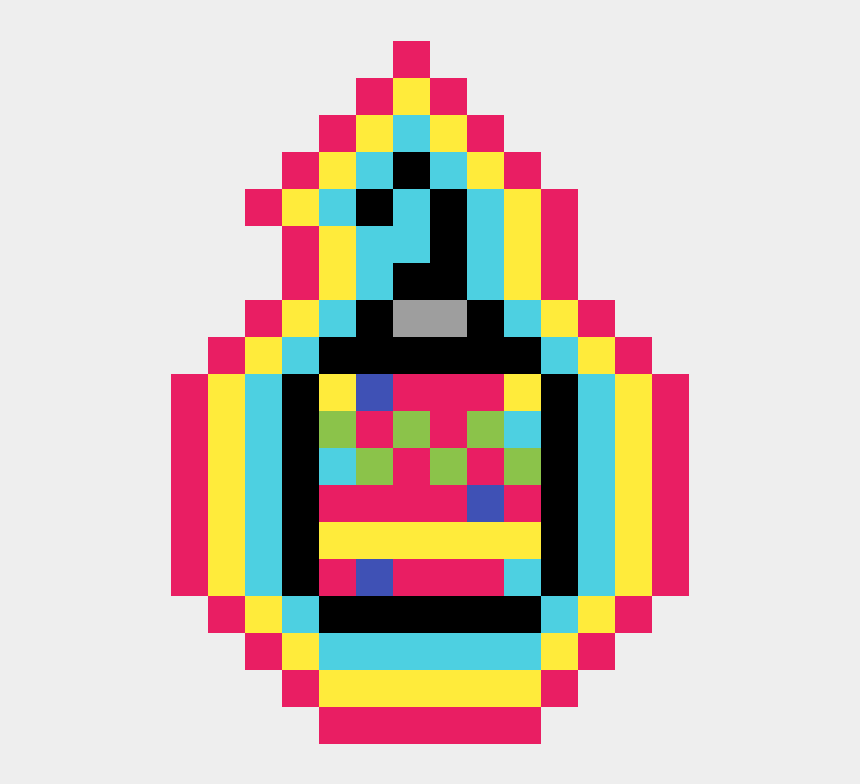 magic potions clipart, Cartoons - Magic Christmas Potion - Pixel Pac Man Png