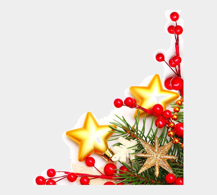 christmas corner decorations png - christmas dinner menu borders  cliparts  u0026 cartoons