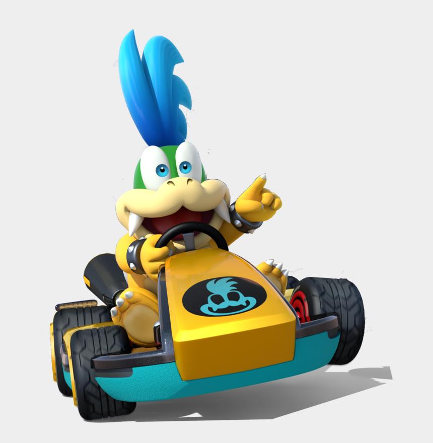 go karts clipart, Cartoons - Mario Kart 8 Deluxe Character Png - Mario Kart 8 Koopa