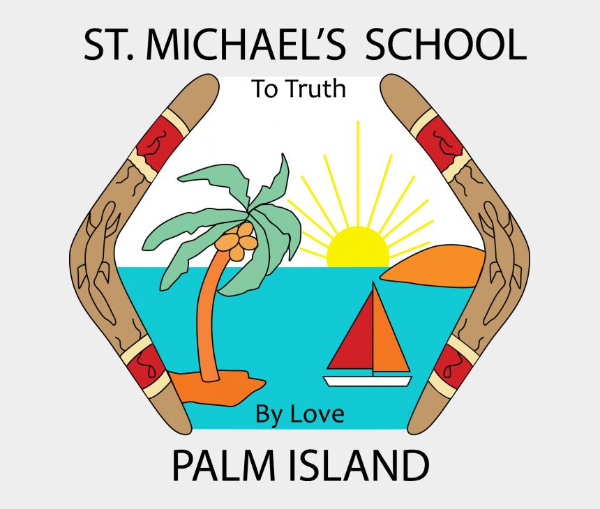 saint michael clipart, Cartoons - Love Our Leadership Townsville Education Office St - St Michael's School Palm Island