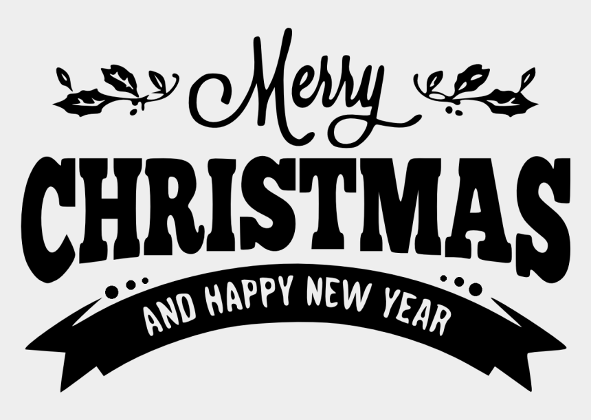 christian new years clipart, Cartoons - Happy New Year Banner Png - Merry Christmas And Happy New Year .png