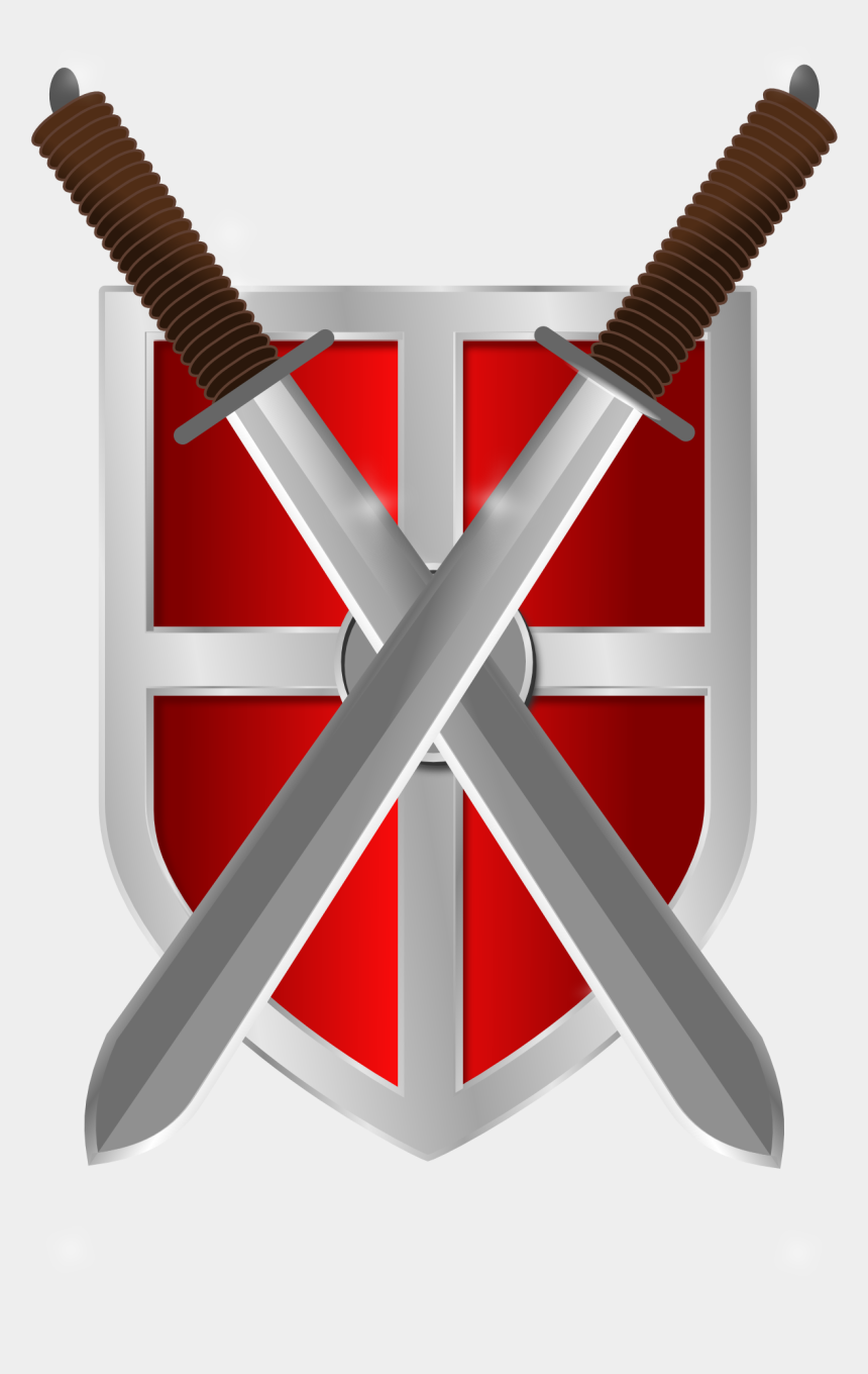 medieval swords clipart, Cartoons - Shield, Swords, Knight, Medieval, Weapon, Warrior - Roman Shields And Swords