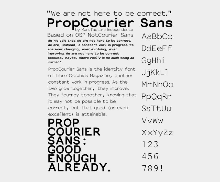 courier clipart, Cartoons - Download - Prop Courier Sans
