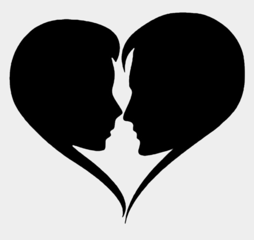 couples in love clipart, Cartoons - #hearts #heart #couples #couple #love #black - Muah I Love You
