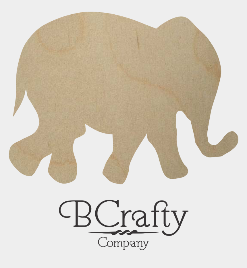 cut out clipart, Cartoons - Shapes Clipart Elephant - Elephant Cut Out Shape
