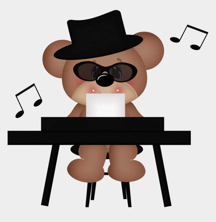blues brothers clipart, Cartoons - Music ‿✿⁀°••○ Music - Teddy Bear Music Clipart