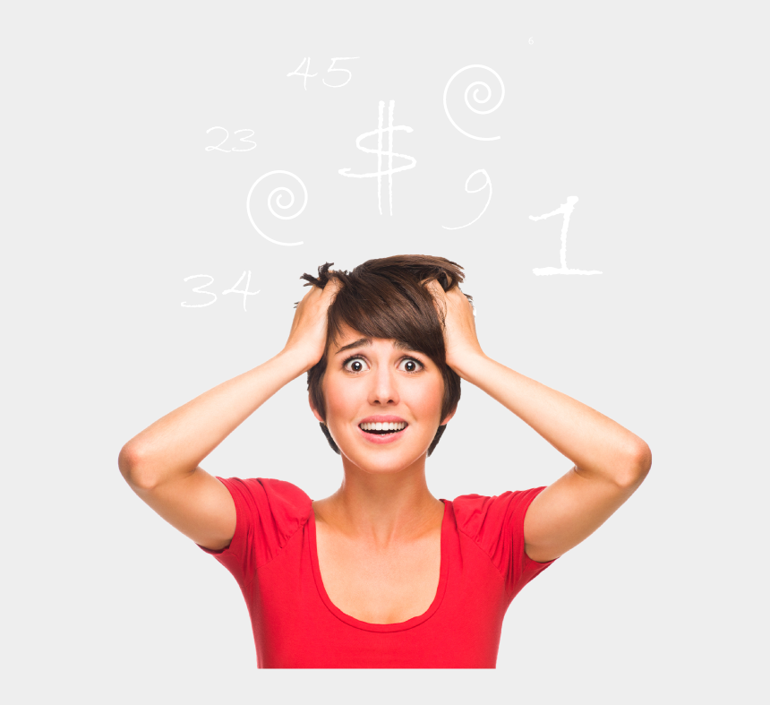 frustrated woman clipart, Cartoons - Epoch Admin Bookkeeping - Stress With Social Media