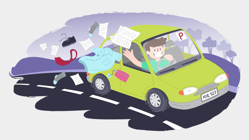 kids leaving school clipart, Cartoons - Dealing With The End Of School Is Different For Everyone - City Car