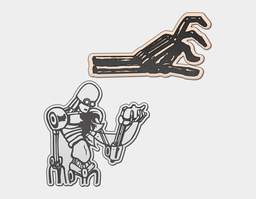 corduroy bear clipart, Cartoons - Robot Hand Pin Pack - Robot