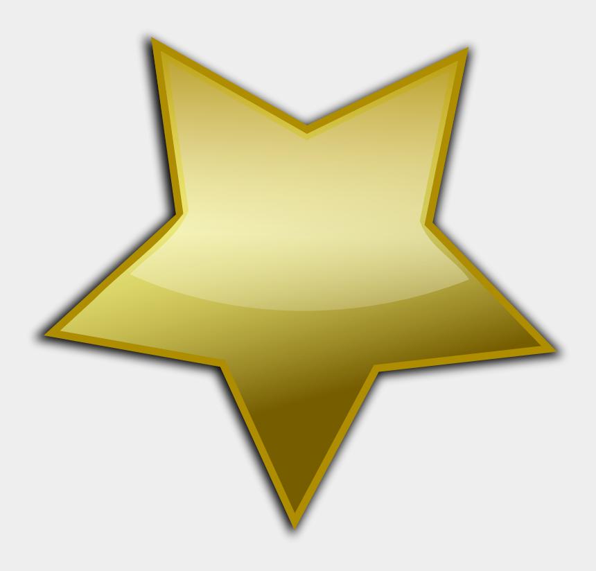 gold bars clipart, Cartoons - Gold Star Vector Png