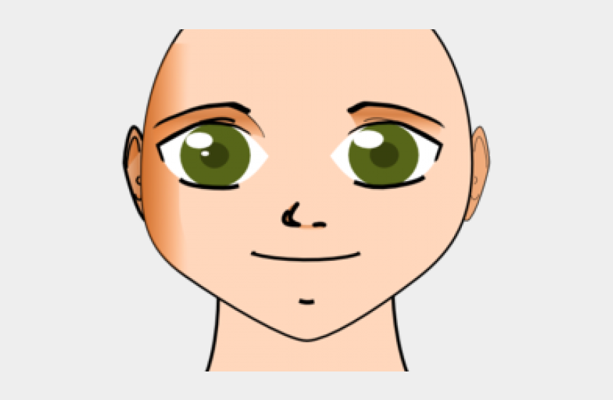 bald head clipart, Cartoons - Bald Girl Cliparts - Face Without Hair Clipart
