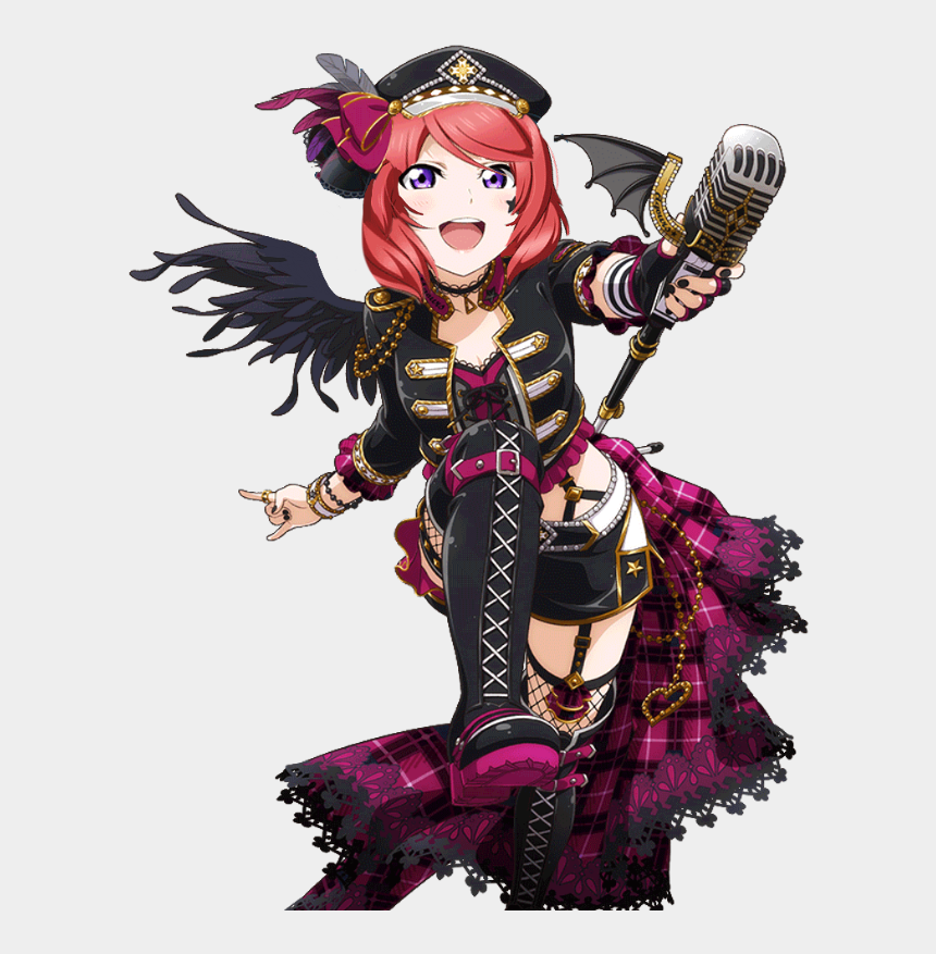 punk rock clipart, Cartoons - Maki Nishikino Punk Rock Edit - Love Live Blazblue