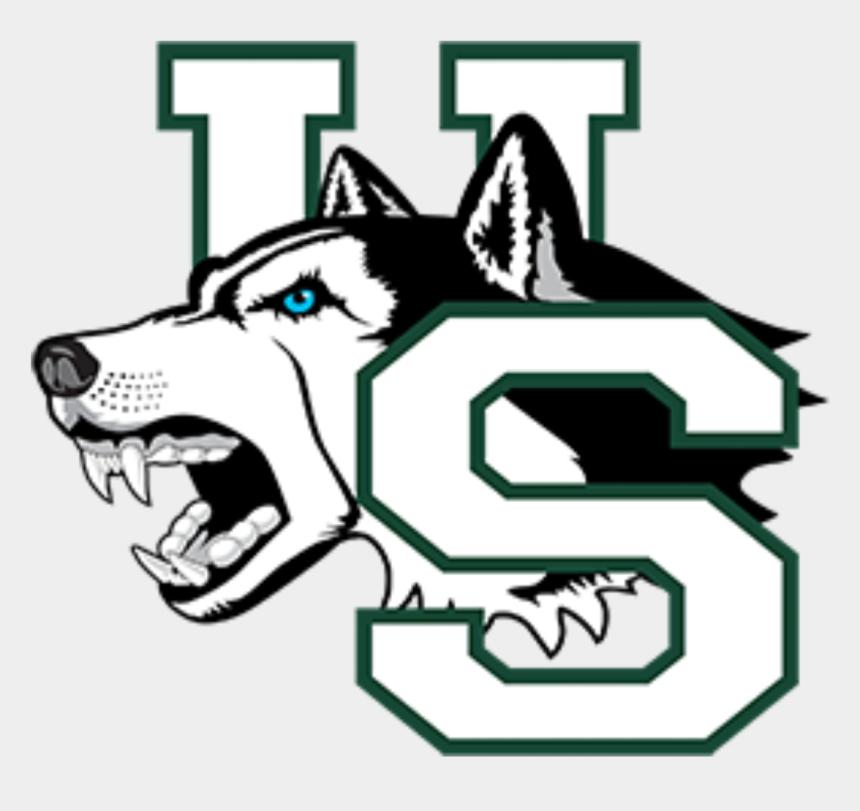 sled dogs clipart, Cartoons - Husky Clipart Profile - University Of Saskatchewan Huskies