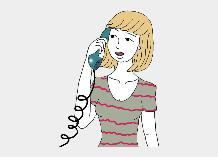 two people talking to each other clipart, Cartoons - Phone Call Dream Meaning - Cartoon Phone Calling