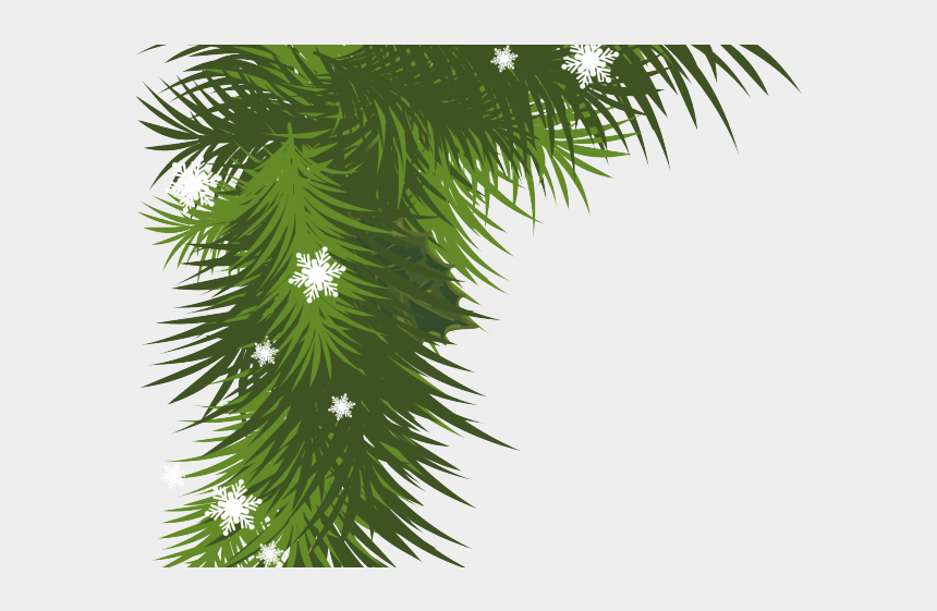 pine garland clipart, Cartoons - Pine Garland Cliparts - Corner Christmas Borders Clipart