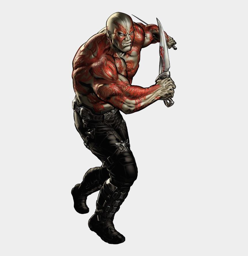 avenger clipart, Cartoons - Avenger Drawing Portrait - Drax Marvel Avengers Alliance