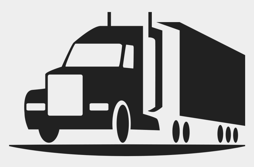 flatbed trailer clipart, Cartoons - Picture - Semi Truck Icon Transparent