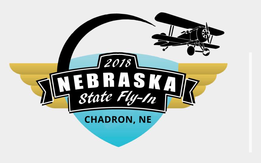 airline ticket clipart, Cartoons - Nebraska State Fly - Biplane
