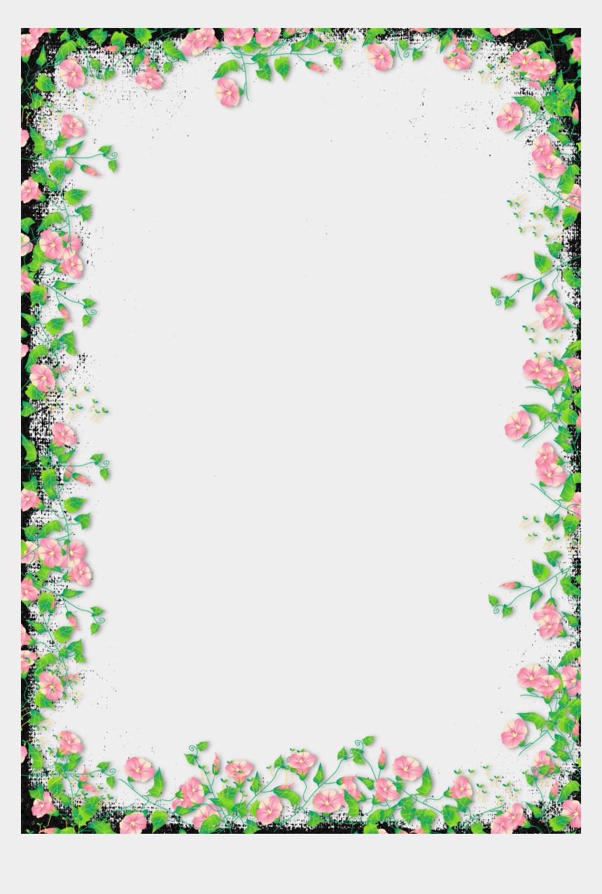 black transparent flower frame floral borders and frames png cliparts cartoons jing fm black transparent flower frame floral