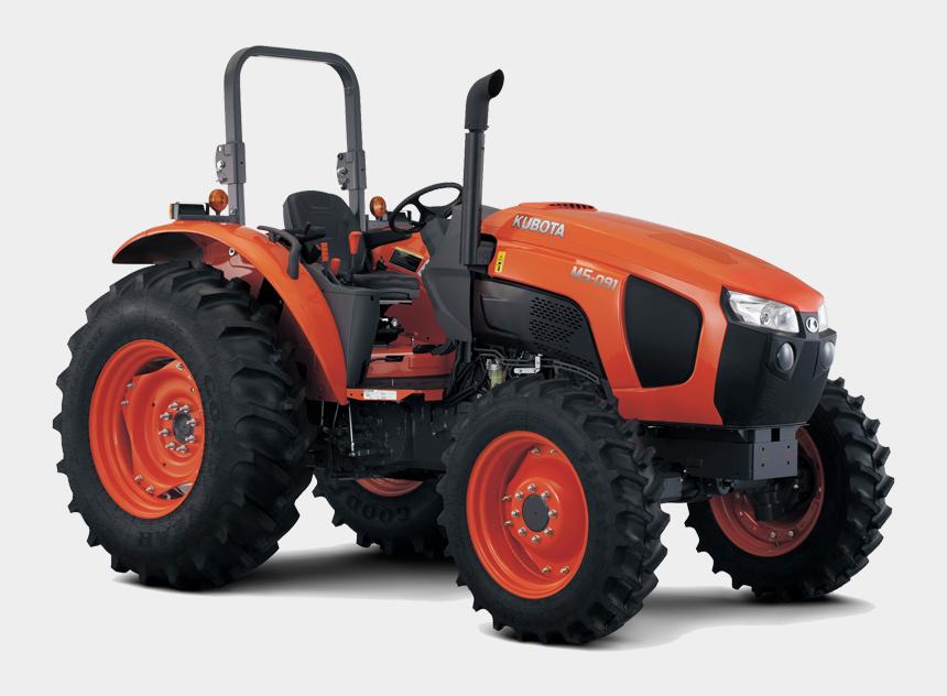 kubota tractor clipart, Cartoons - Kubota M5 - Tractor - Kubota M5 111 Rops