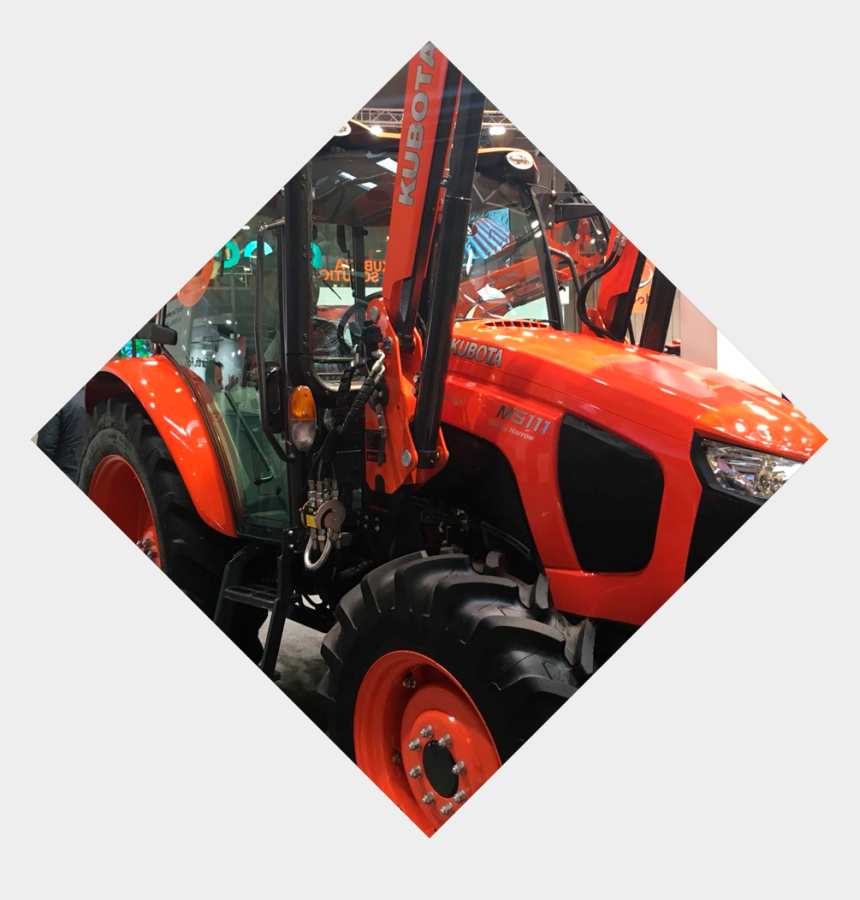 kubota tractor clipart, Cartoons - New Products Presented At Fima - Tractor