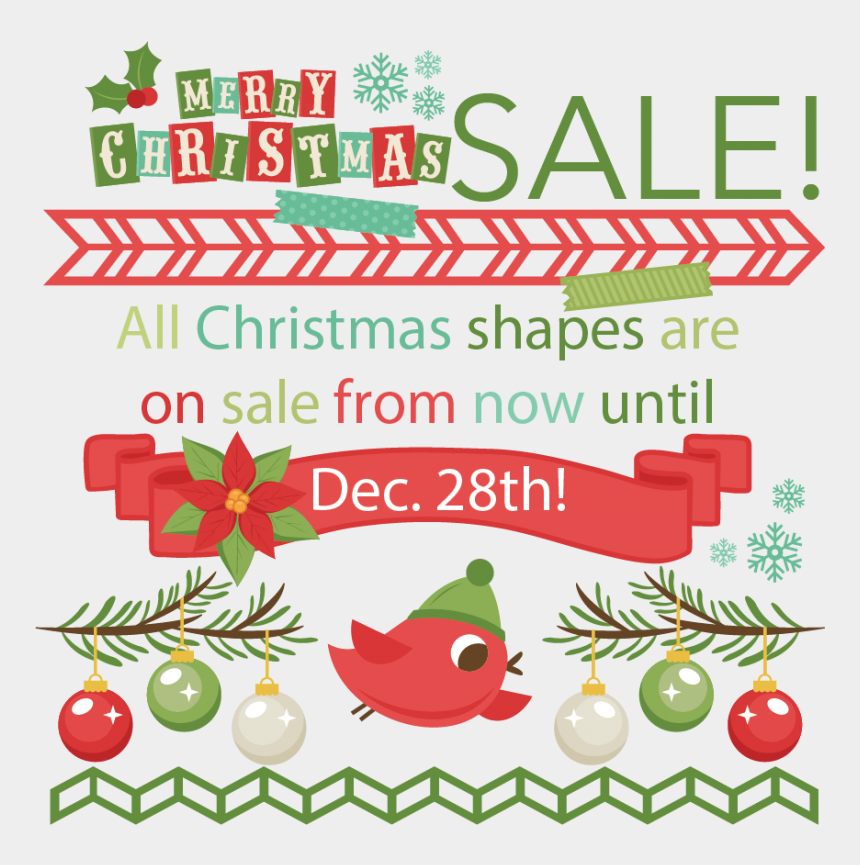 christmas sale clipart, Cartoons - Christmas Truck With Treesvg Scrapbook Cut File Cute - Christmas Tree Clip Art