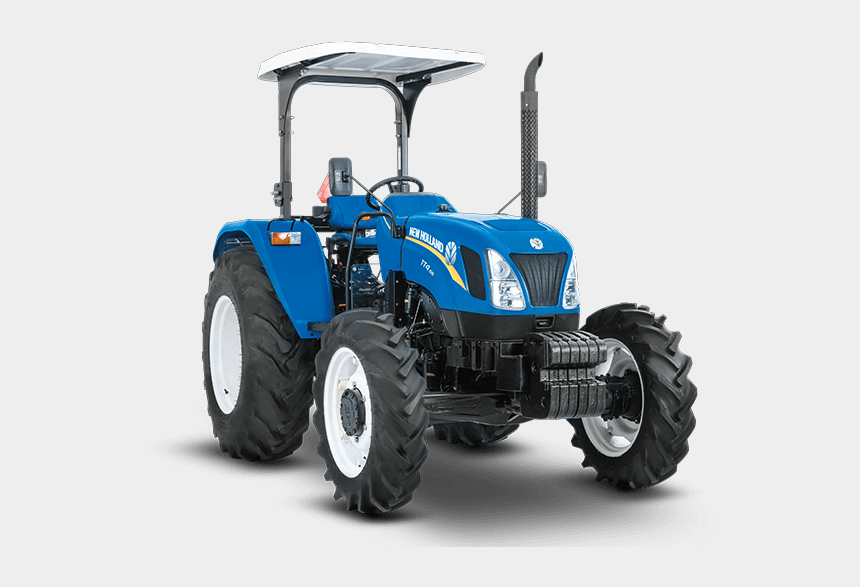 front end loader clipart, Cartoons - Tractor New Holland Tt4